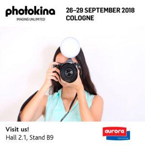 Aurora Lite Bank auf der photokina 2018